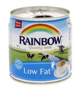 Rainbow شیر تغلیظ شده کم چرب 170 گرمی رین بو