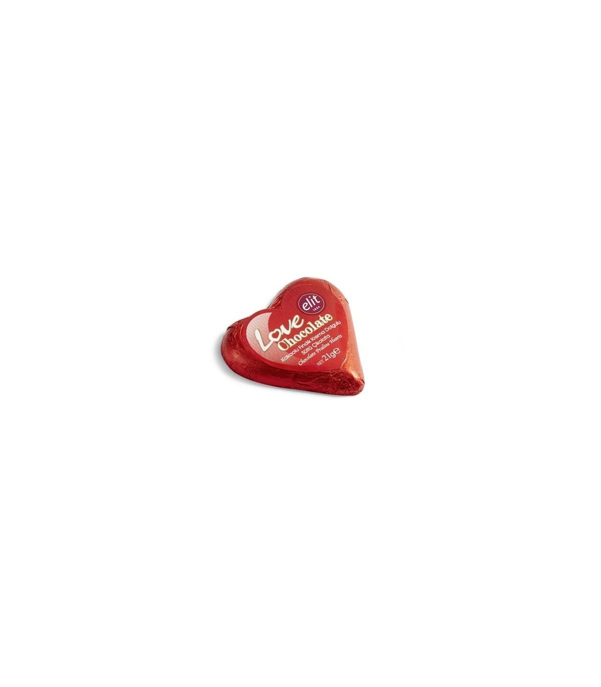 Elit شکلات شیری قلب 21 گرمی الیت