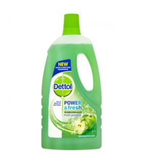 Dettol تمیز کننده و ضدعفونی کننده همه کاره سیب سبز 1 لیتری دتول