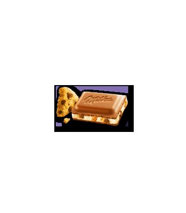 Milka شکلات شیری کوکی چیپس شکلات 100 گرمی میلکا