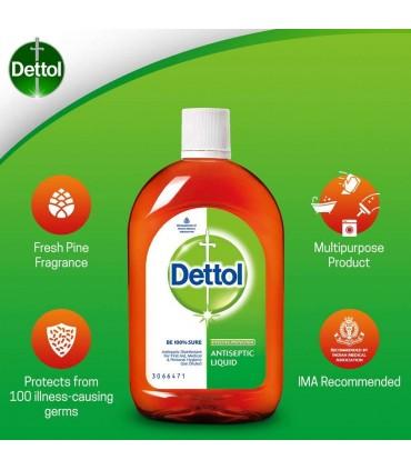Dettol مایع ضد عفونی کننده 550 میلی دتول