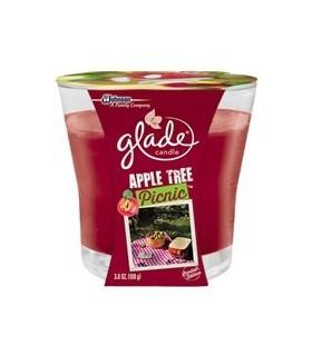 Glade شمع معطر با رایحه سیب گلید