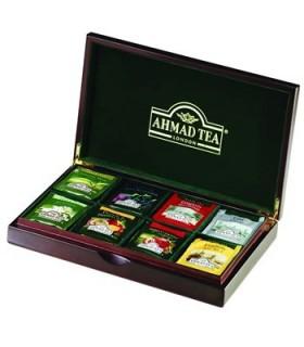 Ahmad tea جعبه چوبی چای 48 عددی احمد تی