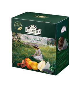 Ahmad tea چای کلاسیک با طعم اشترودل گلابی 15 عددی احمد تی