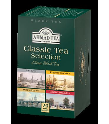 Ahmad Tea چای کلاسیک با 4 طعم مختلف 20 عددی احمد تی