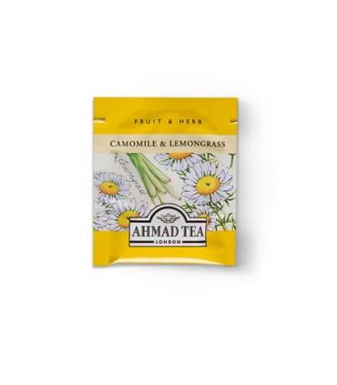 Ahmad Tea دمنوش آرامش بخش بابونه و لمون گرس 20 عددی احمد تی