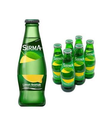 Sirma پک 6 عددی آب معدنی گازدار لیمویی 200 میلی لیتر سیرما