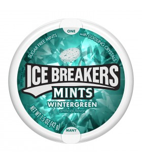 Ice Breakers خوشبوکننده دهان وینتر گرین آیس برکرز