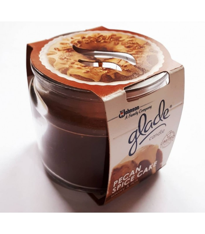 Glade شمع معطر با رایحه کیک گردوی آمریکایی گلید