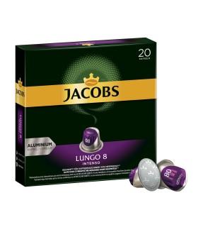 Jacobs کپسول قهوه لانگو 8 اینتنسو 20 عددی جاکوبز