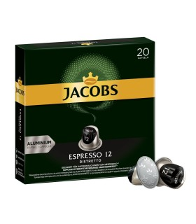 Jacobs کپسول قهوه اسپرسو 12 ریسترتو 20 عددی جاکوبز