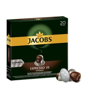 Jacobs کپسول قهوه اسپرسو 10 اینتنسو 20 عددی جاکوبز