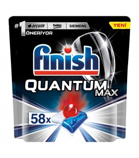 Finish قرص ماشین ظرفشویی کوآنتوم مکس 58 عددی فینیش