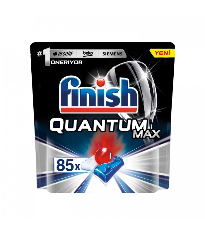 Finish قرص ماشین ظرفشویی کوآنتوم مکس 85 عددی فینیش