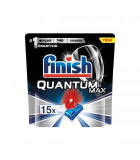 Finish قرص ماشین ظرفشویی کوآنتوم مکس 15 عددی فینیش