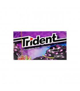 Trident آدامس مخلوط توت ها تریدنت