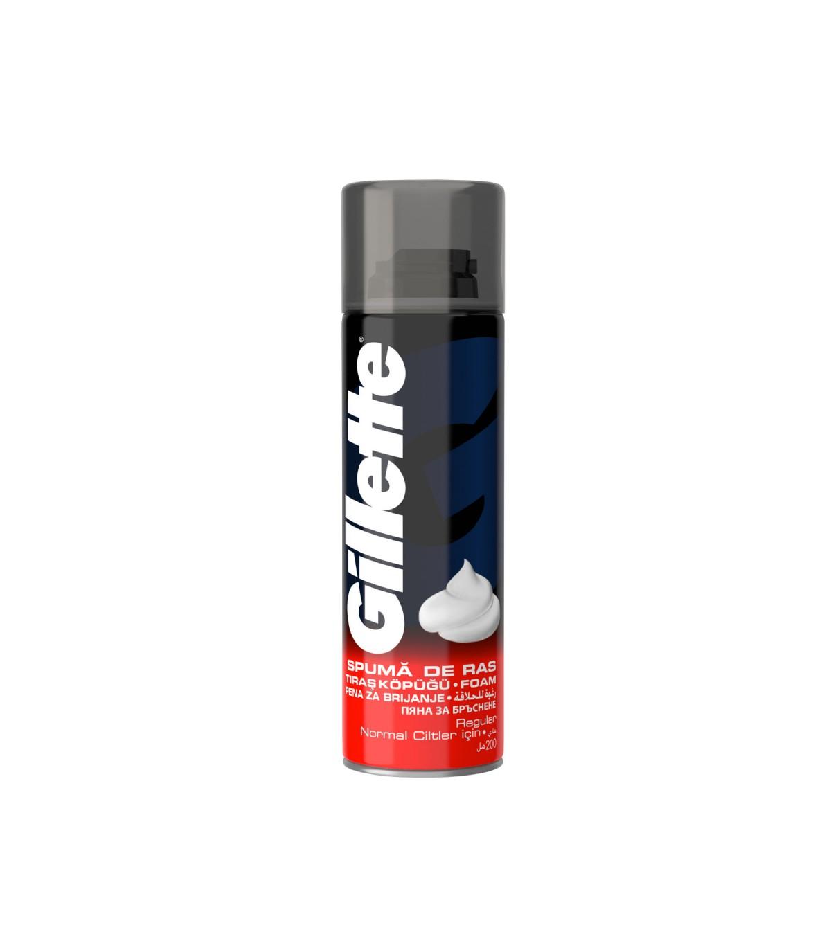 Gillette فوم اصلاح پوست نرمال 200 میل ژیلت