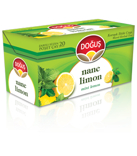 Dogus دمنوش لیمو و نعناع 20 عددی دوغوش
