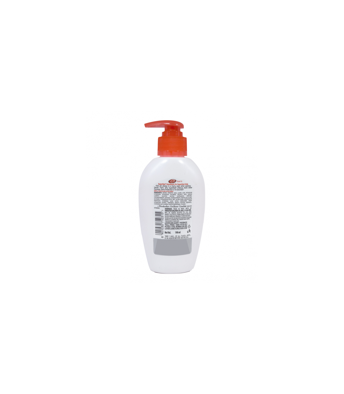Lifebuoy مایع صابون توتال ده 190 میلی لیتر لایف بوی