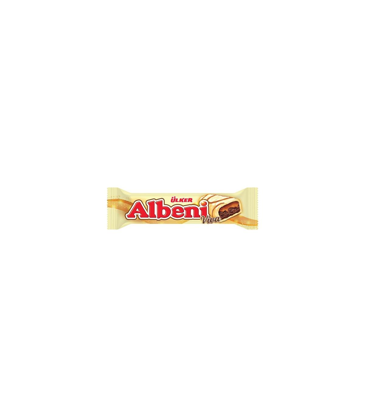 Albeni شکلات سفید 36 گرمی آلبنی