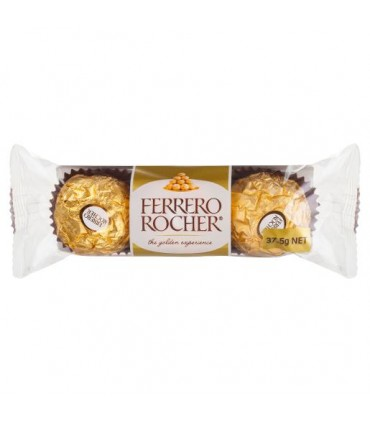 Ferrero Rocher پک 3 عددی شکلات کادوئی 3 عددی فررو روشر