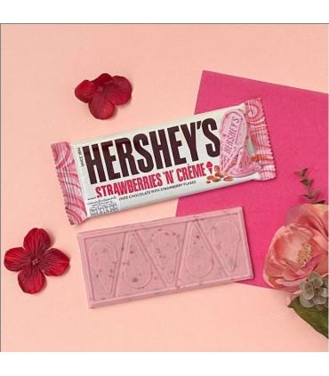 Hersheys شکلات توت فرنگی و خامه 39 گرمی هرشیز