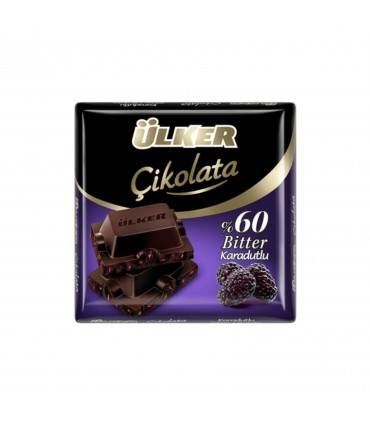 Ulker شکلات تلخ 60% شاتوت 60 گرم الکر