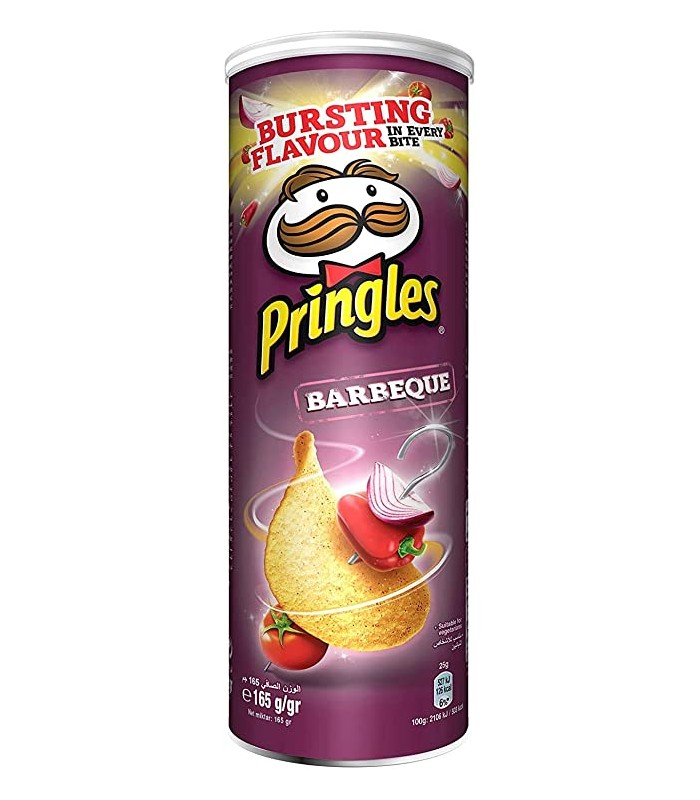 Pringles چیپس باربکیو 165 گرمی پرینگلز