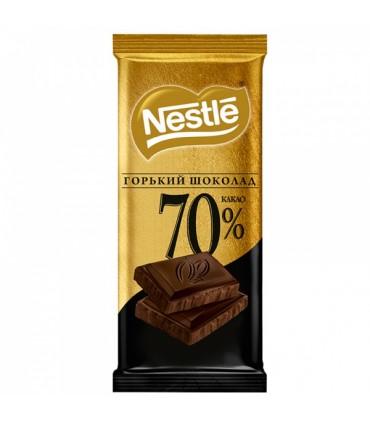 Nestle شکلات تلخ 70% 90 گرمی نستله