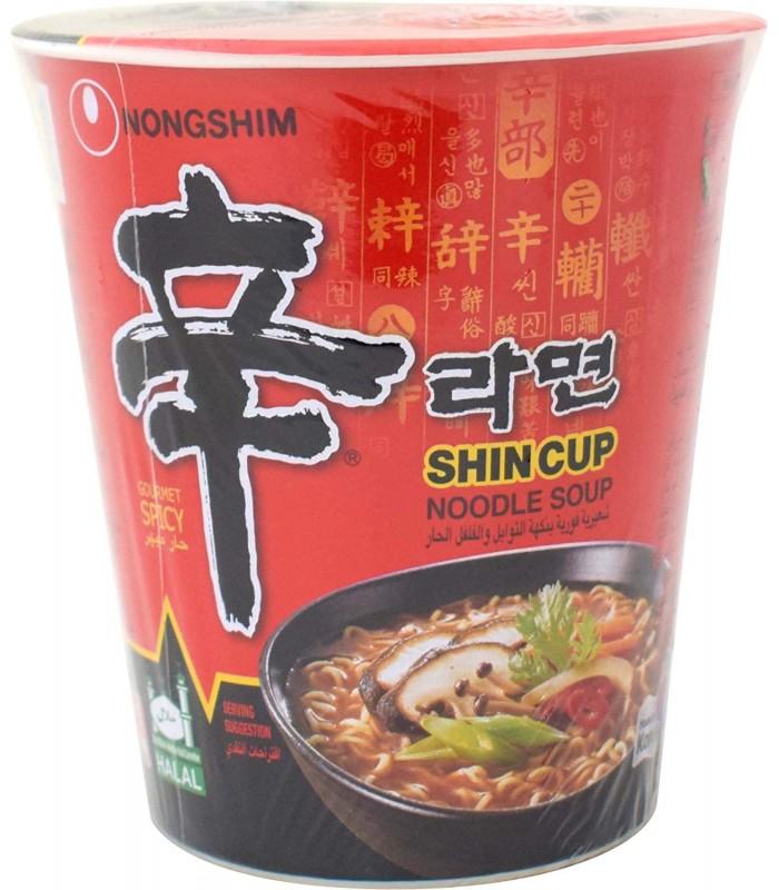 Nongshim نودل تند و اسپایسی 150 گرمی شین کاپ نانگشیم