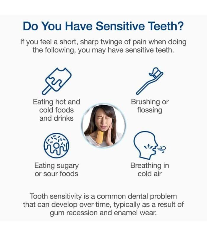 Sensodyne خمیر دندان وایتنینگ ریپیر اند پروتکت 100 گرم سنسوداین