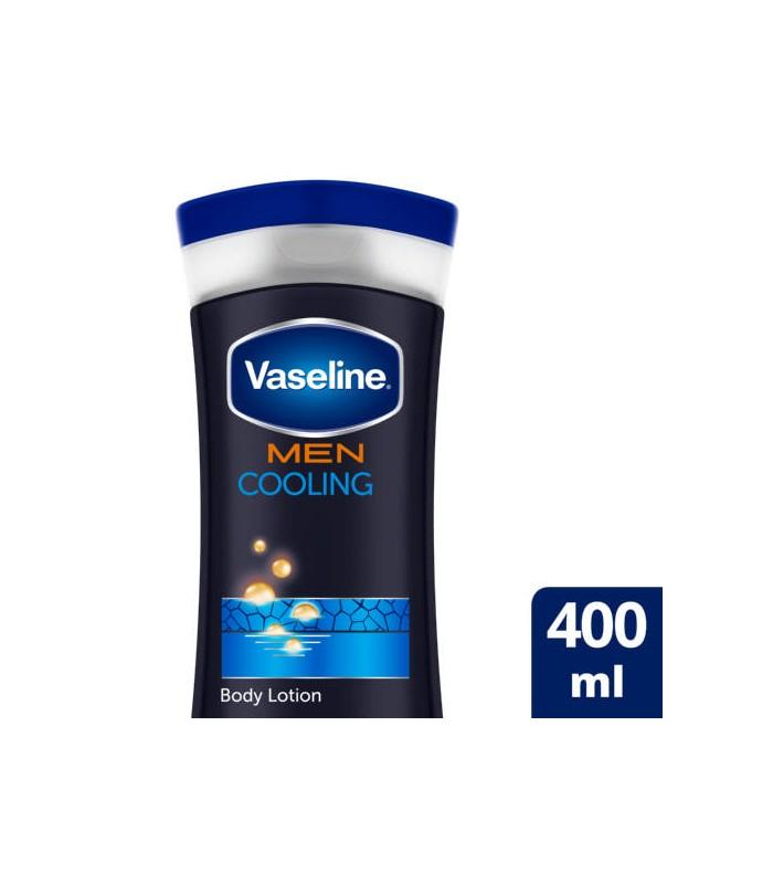 Vaseline لوسیون بدن مردانه خنک کننده 400 میل وازلین
