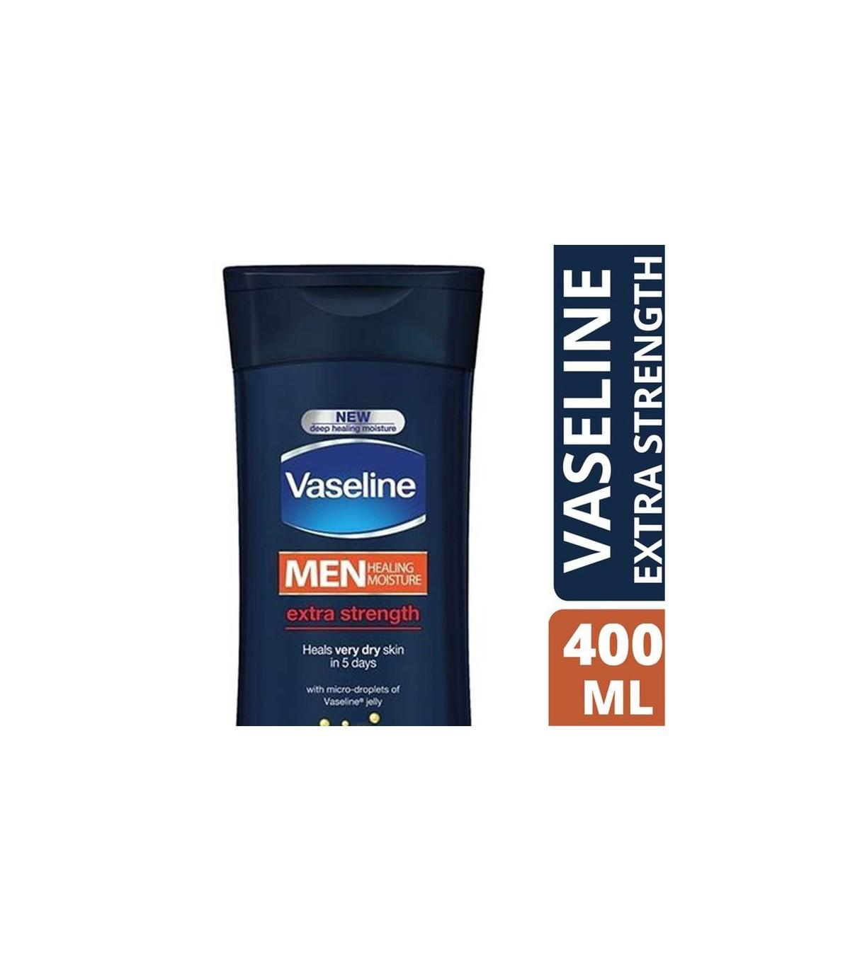 Vaseline لوسیون بدن مردانه فوق قوی 400 میل وازلین