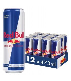 Red bull پک 12 عددی نوشیدنی انرژی زای 473 میلی لیتری ردبول