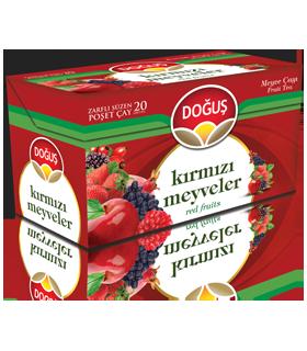 Dogus چای میوه های قرمز 20 عددی دوغوش