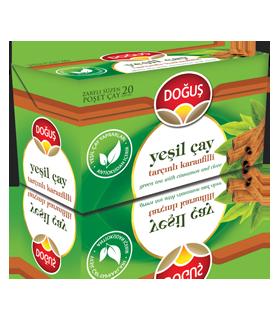 Dogus چای سبز دارچین 20 عددی دوغوش