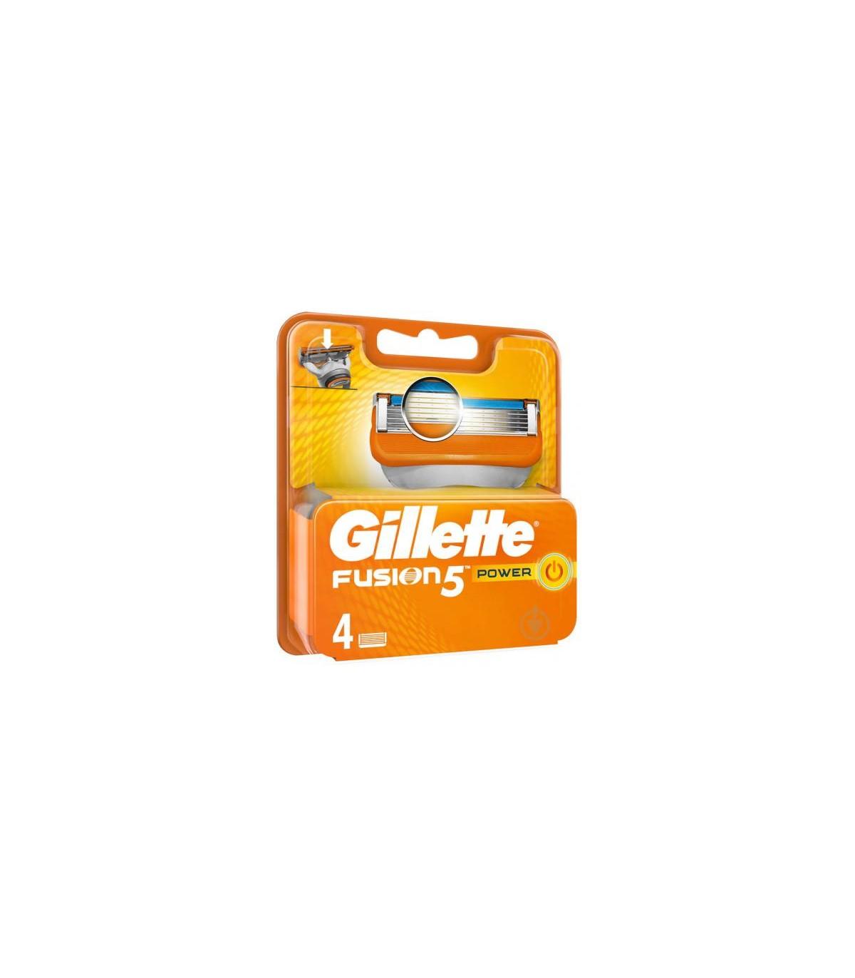 Gillette تیغ یدک خودتراش فیوژن فایو پاور 4 عددی ژیلت