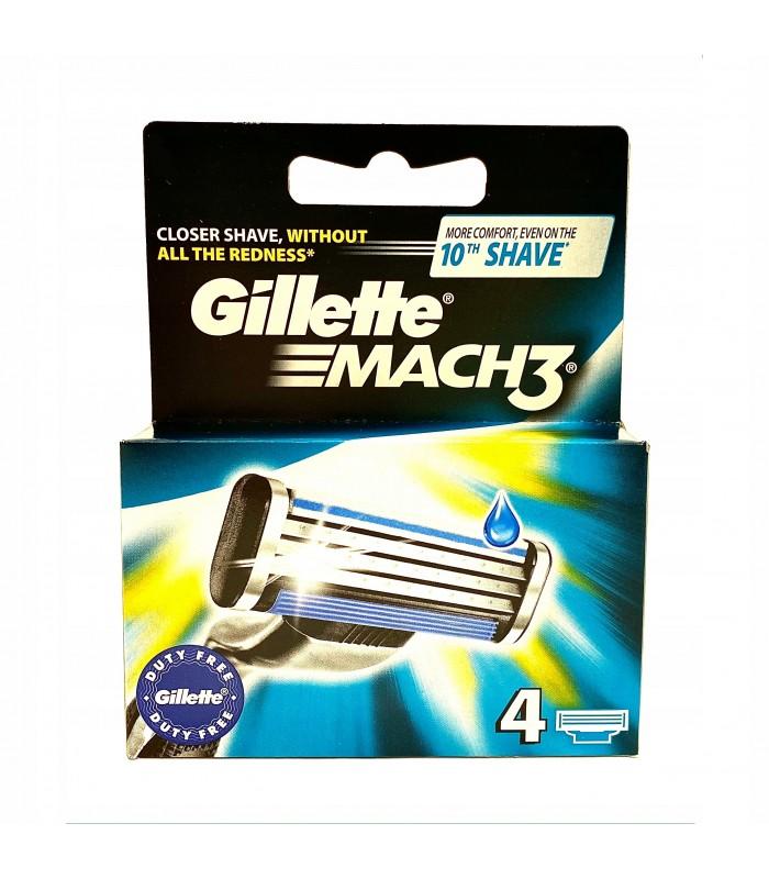 Gillette تیغ یدک خودتراش مچ تری 4 عددی ژیلت
