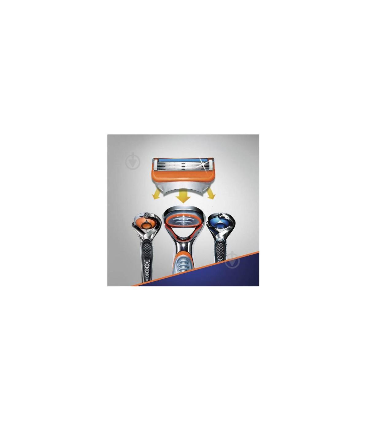 Gillette تیغ یدک خودتراش فیوژن فایو 4 عددی ژیلت