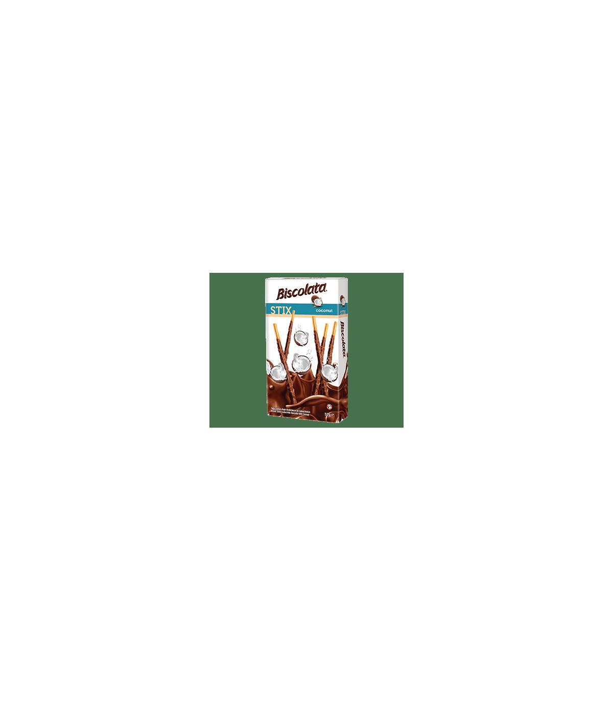 Solen چوب شکلاتی بیسکولاتا استیکس نارگیلی 40 گرمی شولن