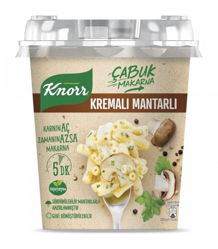 Knorr پاستای آماده قارچ و خامه کنور