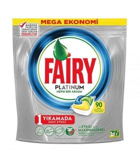Fairy قرص ماشین ظرفشویی پلاتینوم 90 عددی فیری