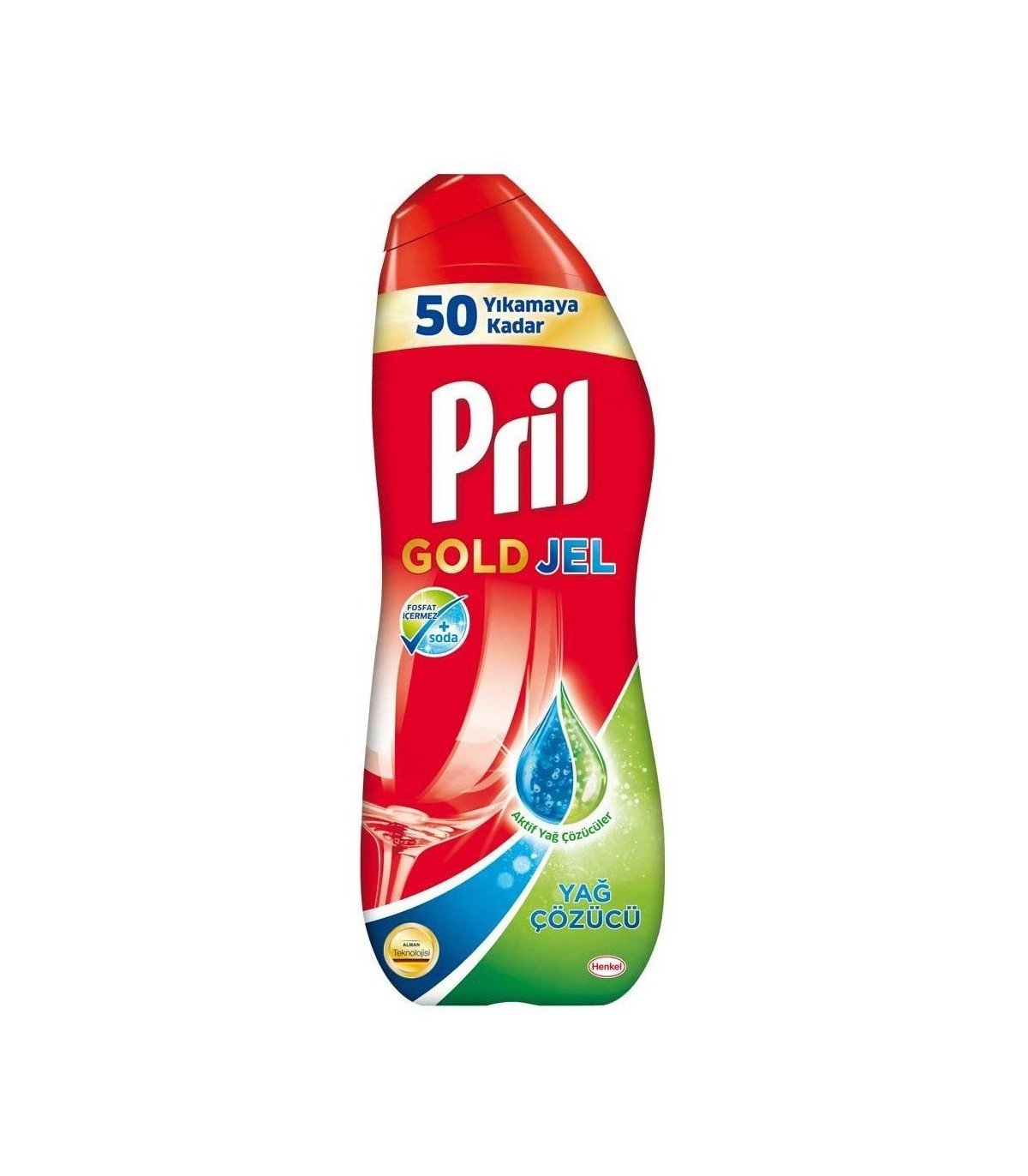 Pril ژل ماشین ظرفشوئی گلد 1 لیتری پریل