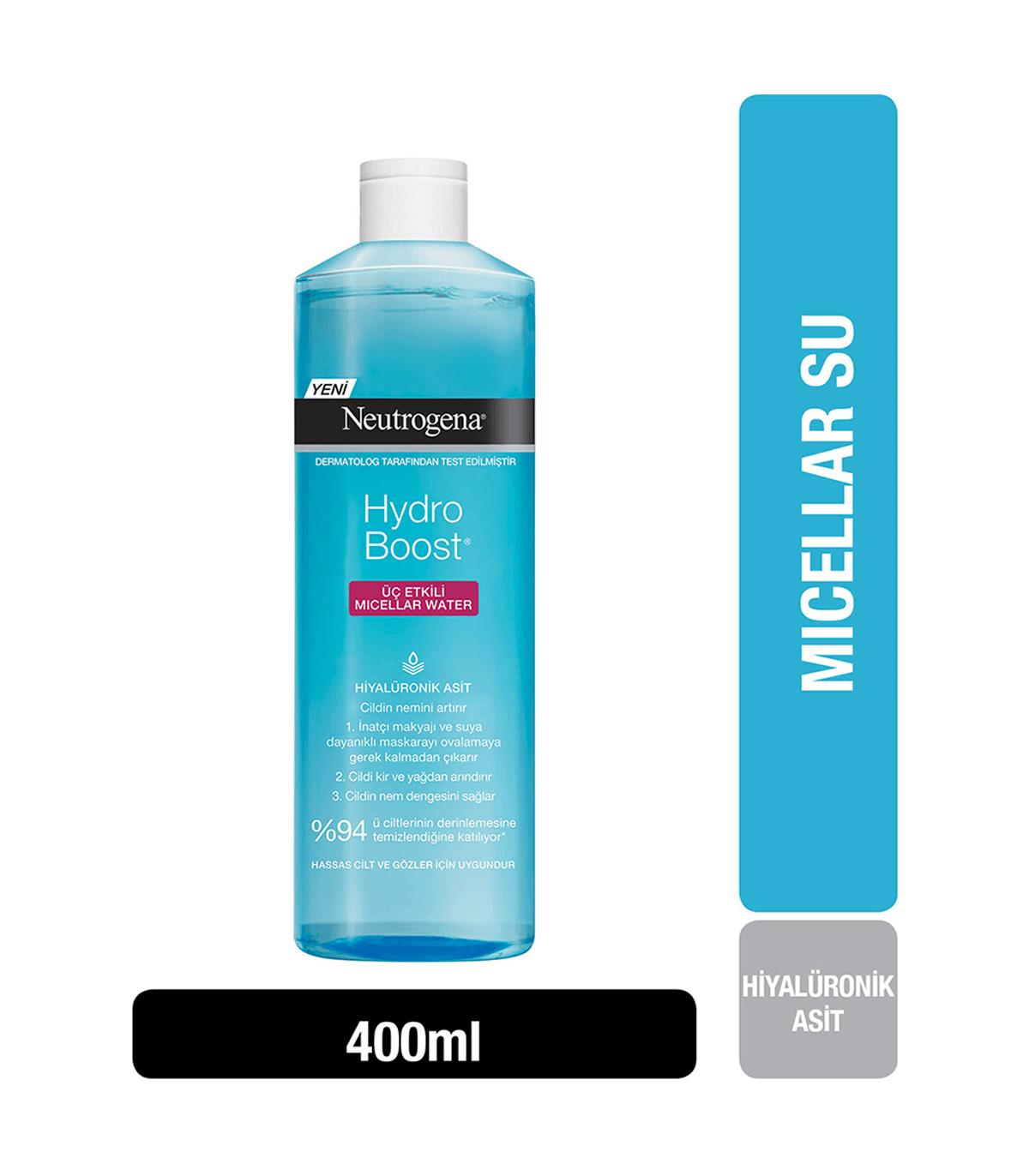 Neutrogena میسلار واتر آب رسان 400 میل نوتروژینا