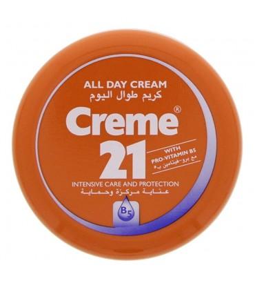Creme 21 کرم مرطوب کننده کلاسیک 250 میلی لیتر کرم 21