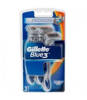 Gillette خودتراش بلو تری سه تیغه 3 عددی ژیلت