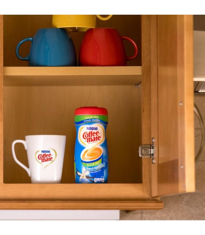 Nestle کافی میت بدون شکر و بدون لاکتوز و بدون گلوتن با طعم وانیل فرانسوی 289 گرم نستله