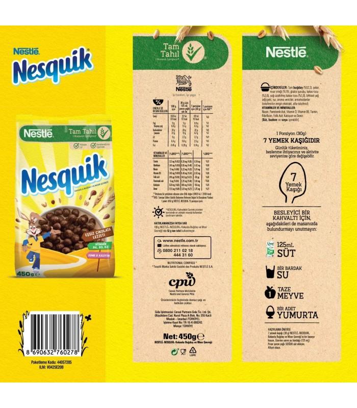 Nestle کرن فلکس ویتامینه 450 گرمی نسکوئیک نستله