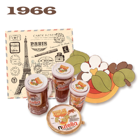 تاریخچه شکلات نوتلا