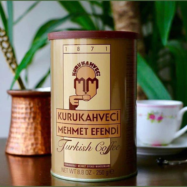 خرید قهوه ترک مهمت افندی ترکیه